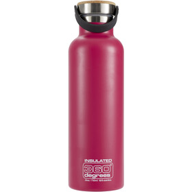 360° degrees Vacuum Insulated Drikkeflaske 750ml, pink